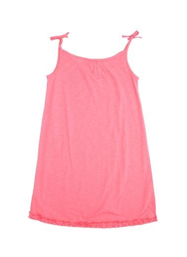 Elbise-Pink&Orange